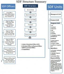 SDF organogram
